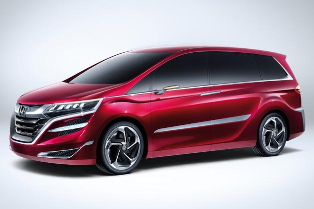 ホンダ 中国向けミニバンコンセプト「Concept M」[2013上海モーターショー出展車]