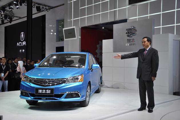 広汽ホンダ 中国自主ブランドモデル「理念S1」マイナーモデルチェンジモデル