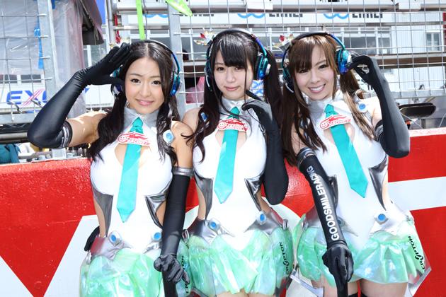 2013 SUPER GT レースクイーン画像ギャラリー in「 第1戦 OKAYAMA GT 300km RACE」~ GT300編 ~ vol.1