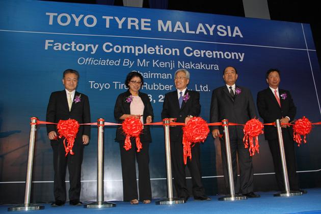 東洋ゴム工業 マレーシア新工場視察レポート