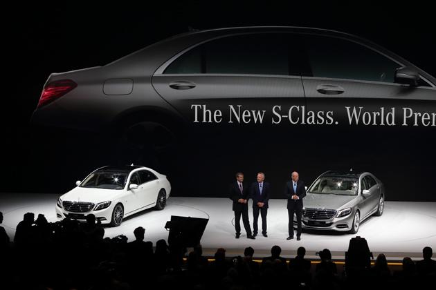 メルセデス・ベンツ 新型Sクラス ワールドプレミアの様子