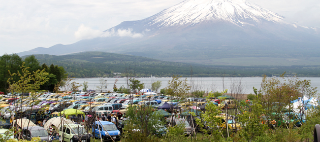 富士の麓にKangooが640台集結!「ルノーカングージャンボリー2013」イベントレポート