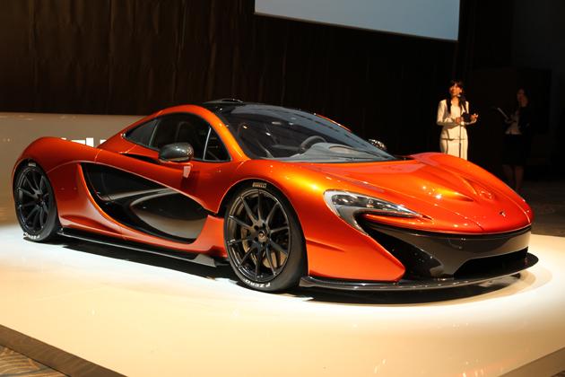 世界最高のドライバーズカー「マクラーレン P1」日本初公開 -販売価格は9,661万円-