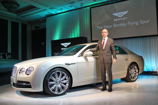 ベントレー 新型「フライング スパー」新型車速報 ~世界最速、最強のベントレー4ドア~