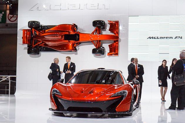 マクラーレン P1 新型車解説
