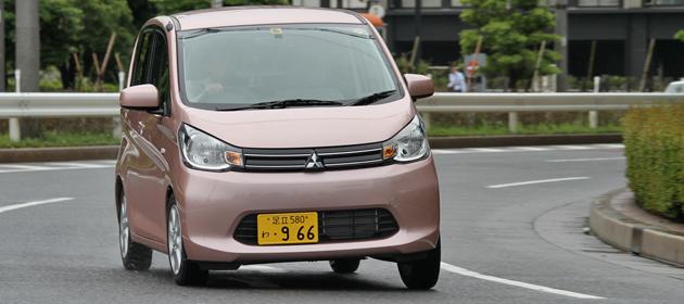 三菱 新型軽自動車「eKワゴン・eKカスタム」試乗レポート/渡辺陽一郎