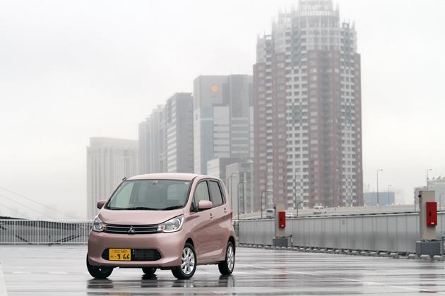三菱 新型軽自動車 eKワゴン「G」[2WD/ボディカラー:サクラピンクメタリック]