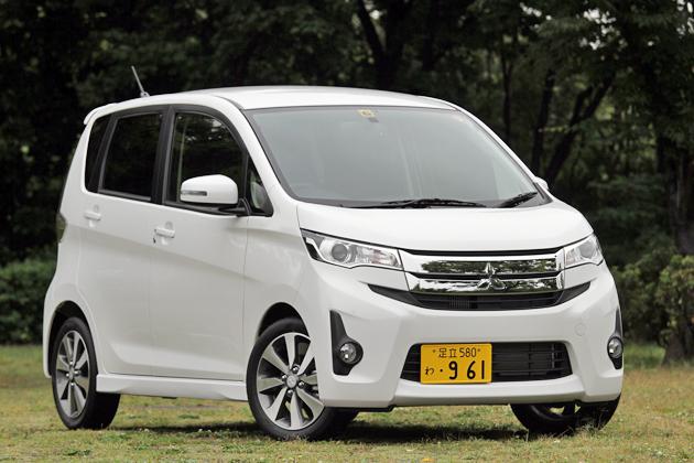三菱 新型 eKカスタム「T」[2WD/ボディカラー:ホワイトパール]