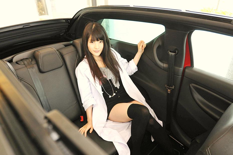 シトロエン DS3 カブリオ/神谷えりなの新型車診察しちゃうぞ!