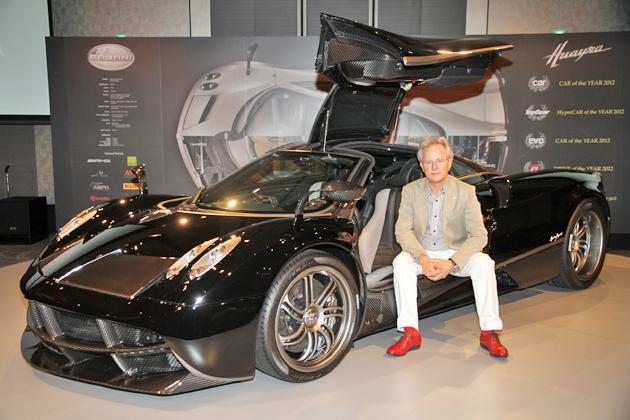イタリアから世界最速スーパーカー現る!「パガーニ ウアイラ」新型車速報