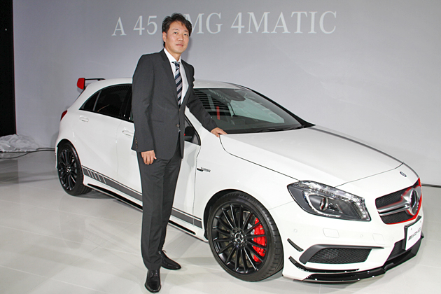 メルセデス・ベンツ A45 AMG 4MATIC新型車速報 ~Aクラス初のハイパフォーマンスモデルが誕生!~