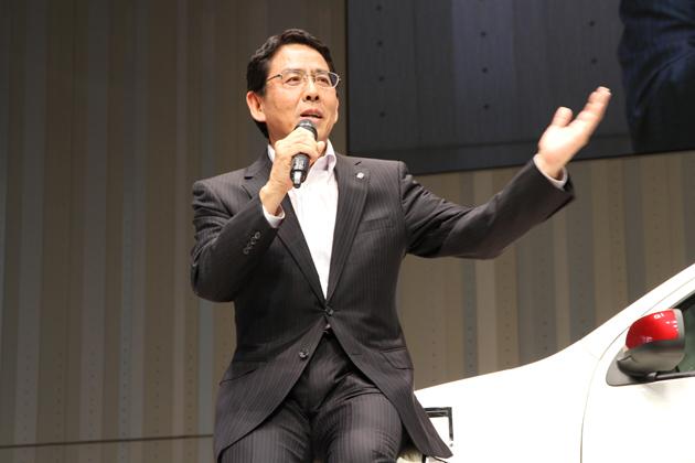 ニッサン・モータースポーツ・インターナショナル(株)取締役社長 宮谷正一氏