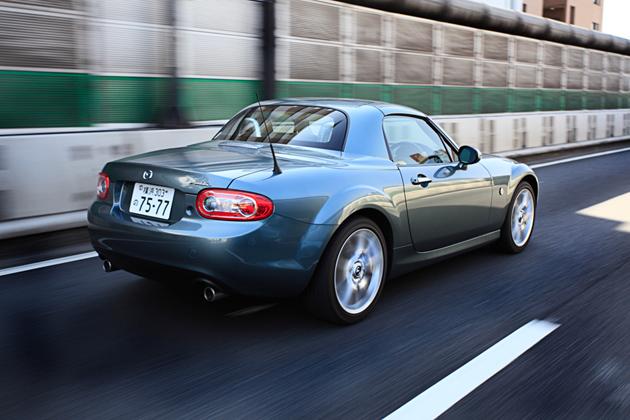 マツダ ロードスター RS (RHT)試乗レポート/藤島知子