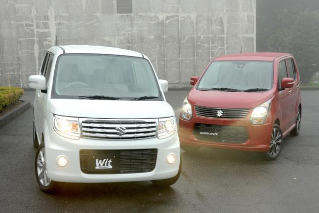 スズキ ワゴンR・MRワゴンWit 新型車解説(2013年一部改良)-燃費30km/Lへ向上-