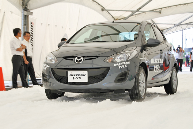ブリヂストン 乗用車用スタッドレスタイヤ新商品「BLIZAAK VRX(ブリザック・ヴイアールエックス)」雪上見学会