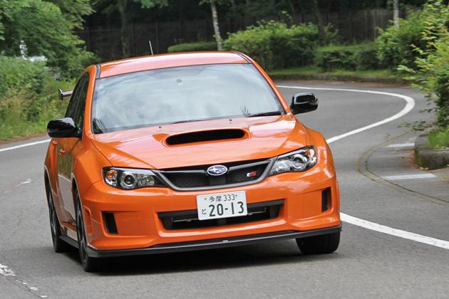 スバル STIコンプリートカー「WRX STI tS TYPE RA」試乗レポート11