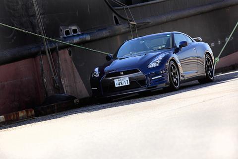 今日は、日産 GT-Rでドライブ♪
