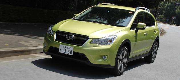 スバル XV ハイブリッド 公道試乗レポート/渡辺陽一郎
