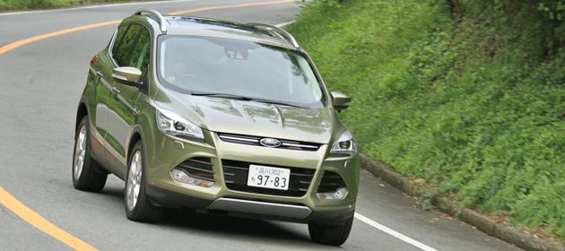 フォード 新型クーガ試乗レポート/日下部保雄