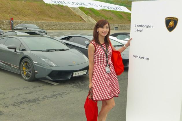 韓国で世界最速のワンメイクレース「ランボルギーニ・ブランパン・スーパートロフェオ」を初開催!/吉田由美