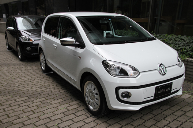 VW up!初の限定車、「white up!」「black up!」発売