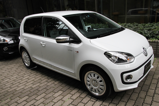 VW up! 初の限定車「white up!」