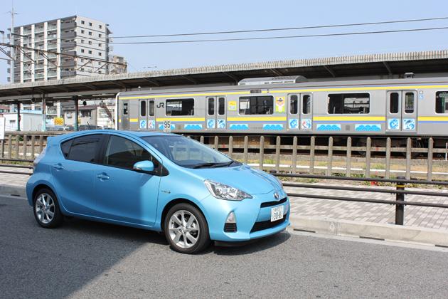 トヨタ アクア(S ツーリングパッケージ) 燃費レポート