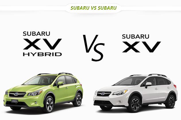 スバル XVハイブリッド vs XV どっちが買い!?徹底比較