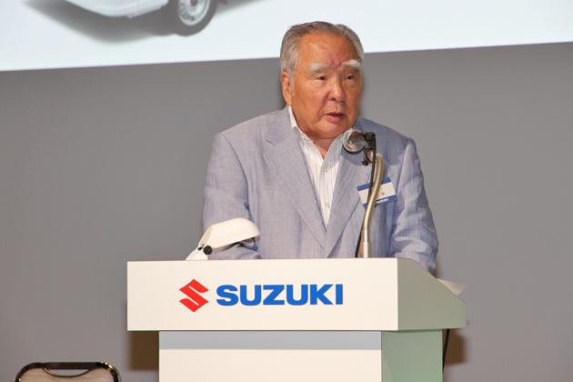 スズキ株式会社 鈴木修 代表取締役会長兼社長
