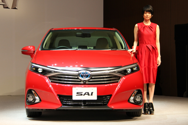 トヨタ 新型SAI [2013年8月マイナーチェンジモデル] 新型車速報