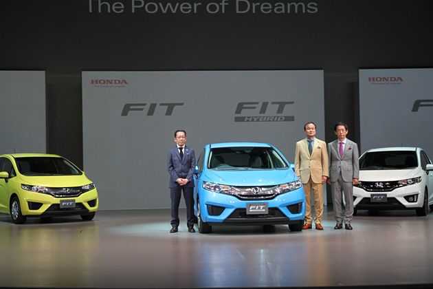 ホンダ 新型フィット/フィットハイブリッド(フィット3)新型車速報