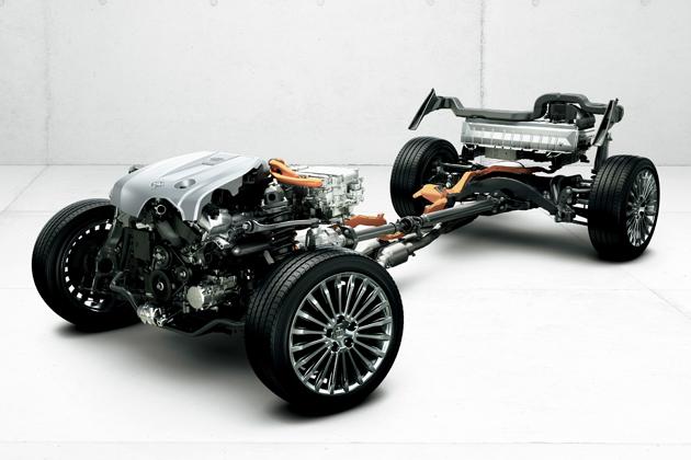 トヨタ 新型 クラウンマジェスタ FRセダン専用3.5リッターハイブリッドシステム