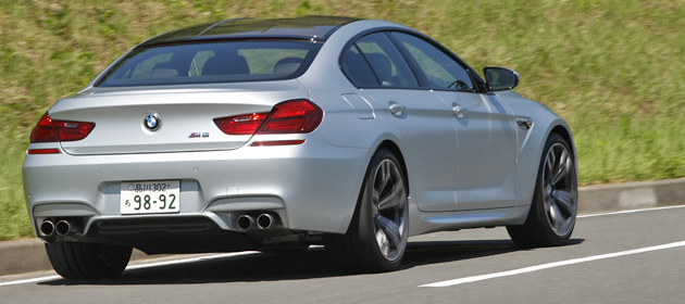 BMW M6 グランクーペ 試乗レポート/石川真禧照