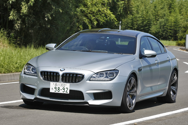 BMW M6 グランクーペ 試乗レポート/石川真禧照 9