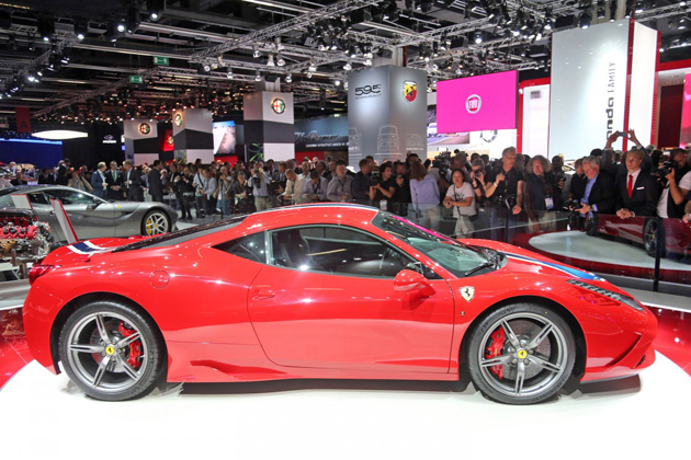 フェラーリ「458 スペチアーレ」