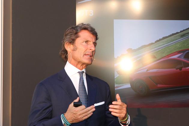 アウトモビリ・ランボルギーニ代表 兼 CEOのステファン・ヴィンケルマン氏