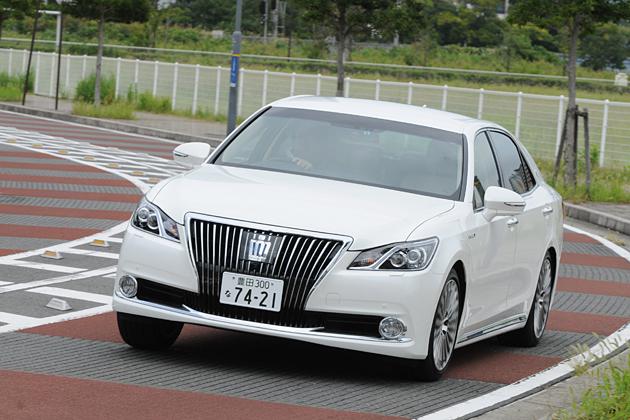 トヨタ 6代目クラウンマジェスタ[2013年フルモデルチェンジ]試乗レポート/渡辺陽一郎