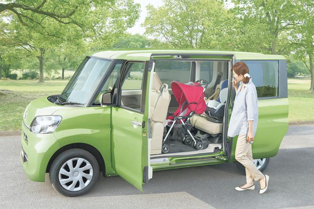 ダイハツ 新型タント ミラクルオープンドア(ベビーカー積載)