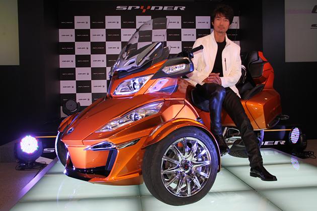 BRP Can-Am Spyder ロードスター 新型車速報