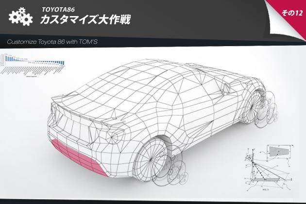 トヨタ86 カスタマイズ大作戦 その12 with TOM'S