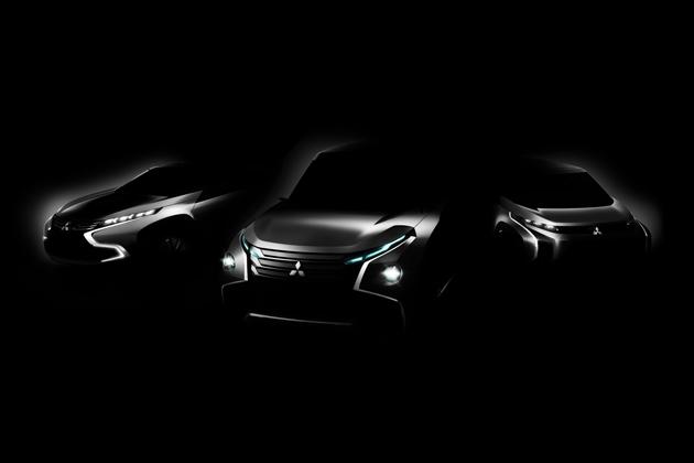 世界初披露となる3台のコンセプトカー(イメージ)
