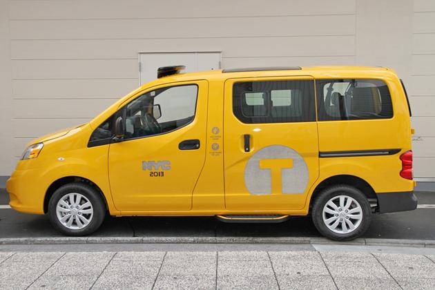 「イエローキャブ」ニューヨーク市タクシー仕様「日産 NV200タクシー」量産モデル