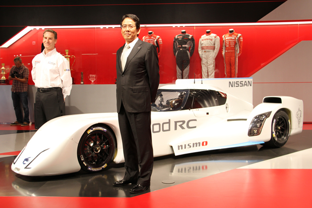 Nissan ZEOD RC発表会にて