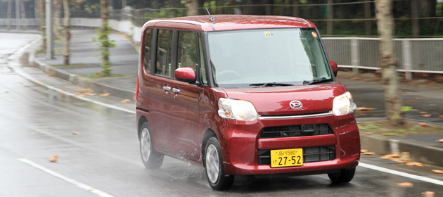 ダイハツ 新型 タント・タントカスタム 試乗レポート/渡辺陽一郎