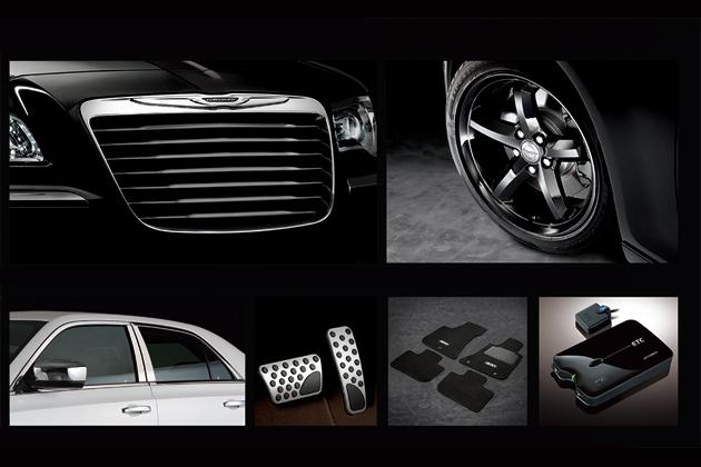 クライスラー・300 Black & White