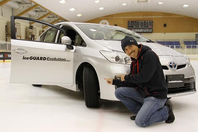 """驚きの氷上性能を実現した""""北海道限定""""スタッドレスタイヤ「YOKOHAMA iceGUARD Evolution iG01」"""