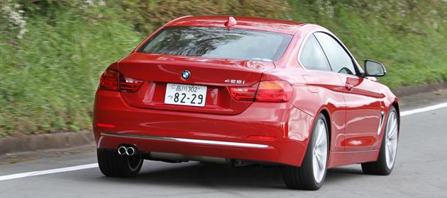 BMW 4シリーズクーペ 試乗レポート/岡本幸一郎