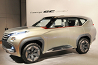 三菱自動車、新世代ラージSUV「Concept GC-PHEV」を世界初公開
