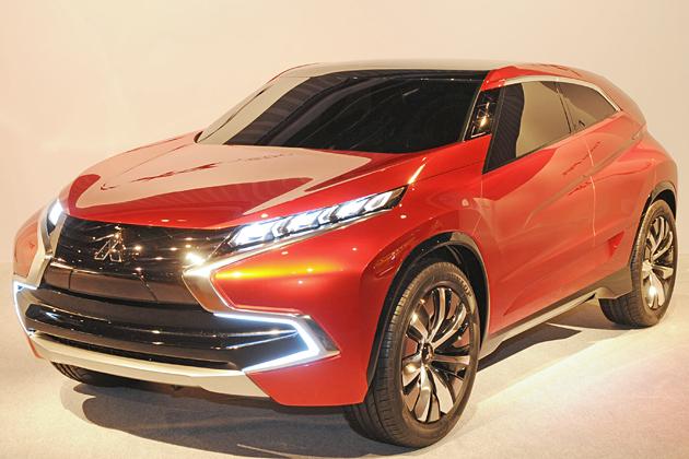 三菱自動車、次世代コンパクトSUV「Concept XR-PHEV」をワールドプレミア