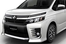 【スクープ!】トヨタ 3代目新型 ヴォクシー/ヴォクシーハイブリッド(フロント周り 画像)「TOYOTA VOXY CONCEPT」(ヴォクシー コンセプト)[東京モーターショー2013参考出品車]